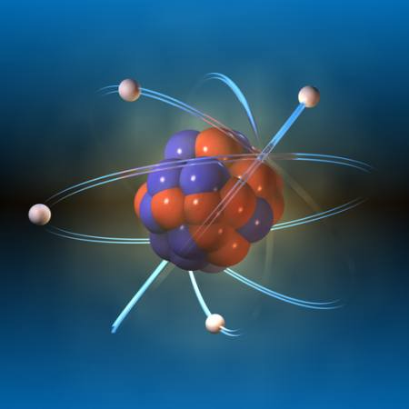 atom, proton, object, rotate, round Andreus - Dreamstime