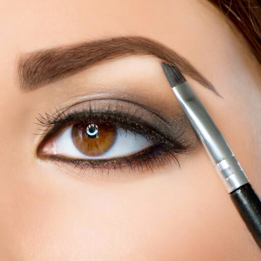 eye, eyebrow, pen, face, woman Subbotina