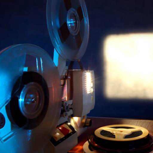 player, movie, film, projection Sabphoto