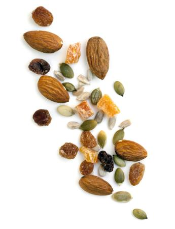 almonds, nuts, seed, seeds, sunflower, raisin Robyn Mackenzie - Dreamstime