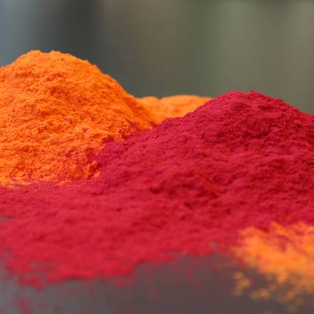 red, orange, powder Natalja Kirvele - Dreamstime
