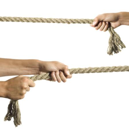rope, hands, fingers Bortn66 - Dreamstime