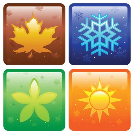 signs, winter, summer, ice, autumn, fall, spring Artisticco Llc - Dreamstime