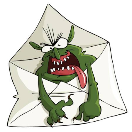 envelope, monster, letter Dedmazay - Dreamstime
