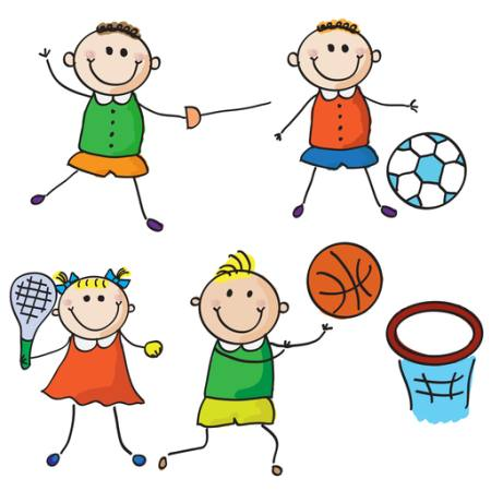 kids, sports, football, tennis, basket Aliona Zbughin - Dreamstime