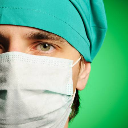 medic, mask, green, man, eye, hat, doctor Haveseen - Dreamstime