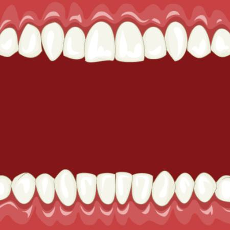 mouth, white, red, teeth Dedmazay - Dreamstime