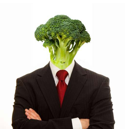 pixwords the image with vegetable man person suit vegan