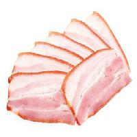 Pixwords The image with ham, bacon, food, eat, slice, slices, fat, hungry Niderlander - Dreamstime