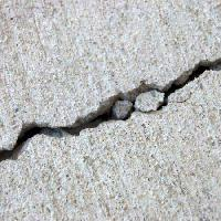 Pixwords The image with road, cement, crack, wall Amandamhanna - Dreamstime