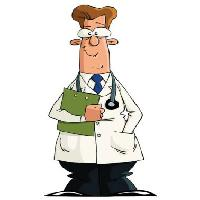 Pixwords The image with man, coat, white, green, stetoscope Dedmazay - Dreamstime