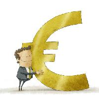 Pixwords The image with euro, man, sign, money Jrcasas