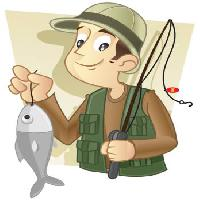 Pixwords The image with fish, fishing, man, catch Freud - Dreamstime