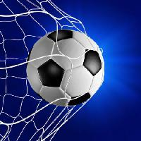 Pixwords The image with ball, net, blue, football Neosiam - Dreamstime