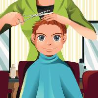 Pixwords The image with hair, barber, child, kid, scrisors, cut Artisticco Llc - Dreamstime