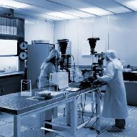 Pixwords The image with lab, scientis, men, work, science Christian Delbert - Dreamstime