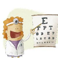 Pixwords The image with eye, test, doctor, woman, drawing Jrcasas