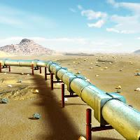 Pixwords The image with pipe, desert, land, filed, tube Andreus - Dreamstime