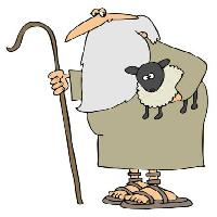 Pixwords The image with sheep, beard, man, shoes, cane Caraman - Dreamstime