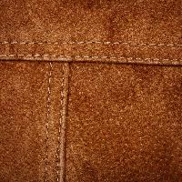 Pixwords The image with jeans, leather, sewn, brown Taigis