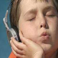 Pixwords The image with music, kid, child, listen, listening Showface - Dreamstime