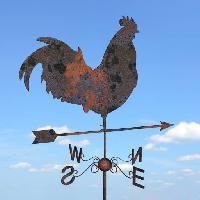 Pixwords The image with rooster, arrow, sky, clouds, animal, chicken Julien Tromeur (Julos)