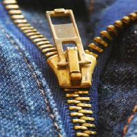 Pixwords The image with zipper, jeans, clothes Hana Sichyngrová - Dreamstime